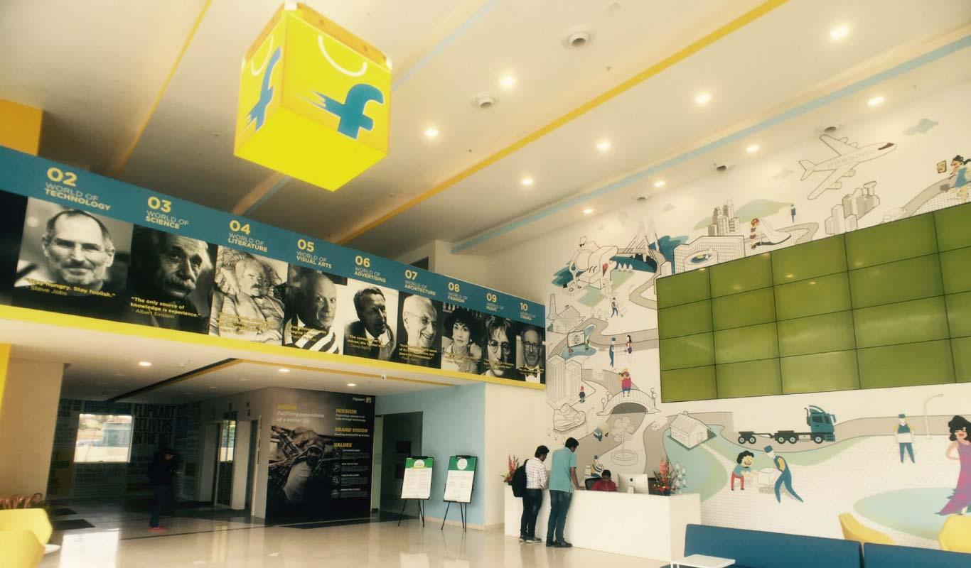 Human Greatness inspires the new Flipkart office