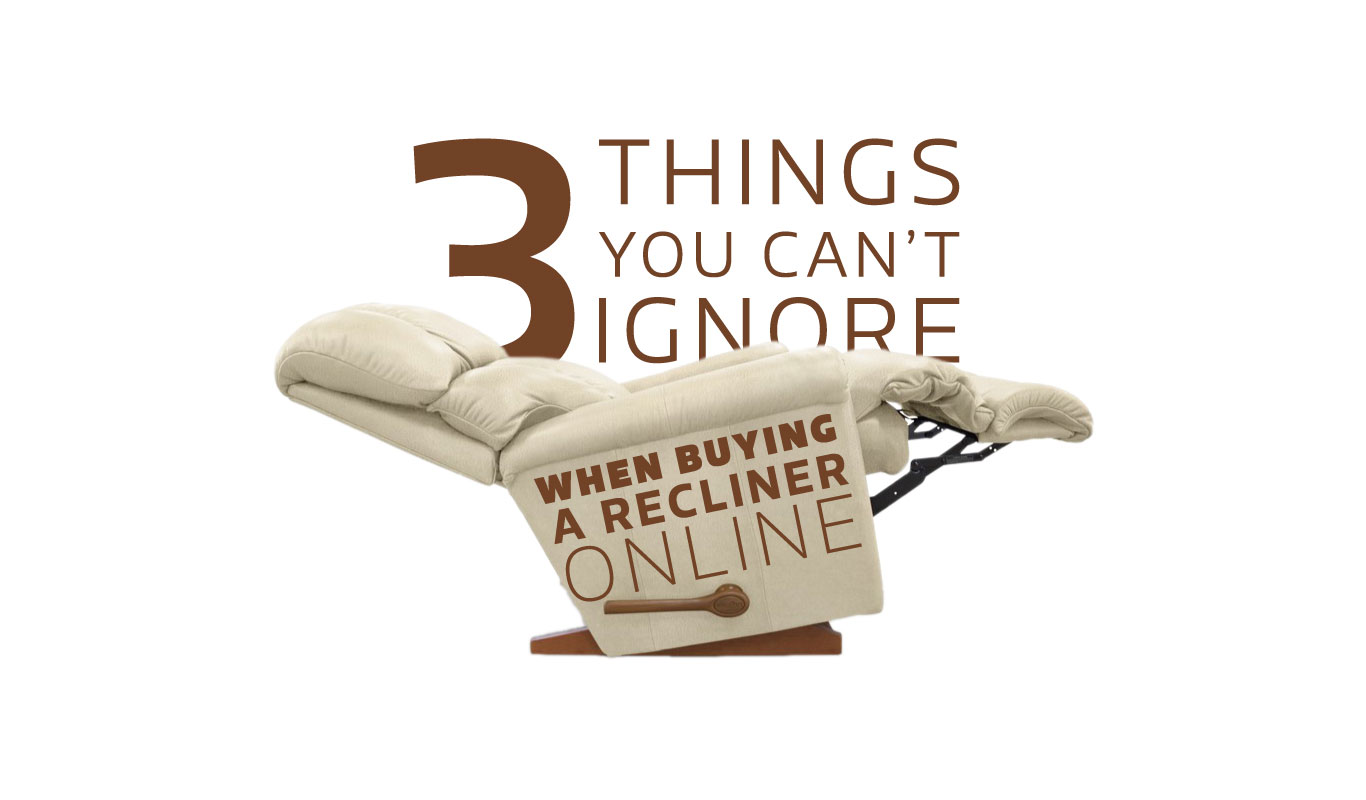 Relax, here's how to buy a recliner online