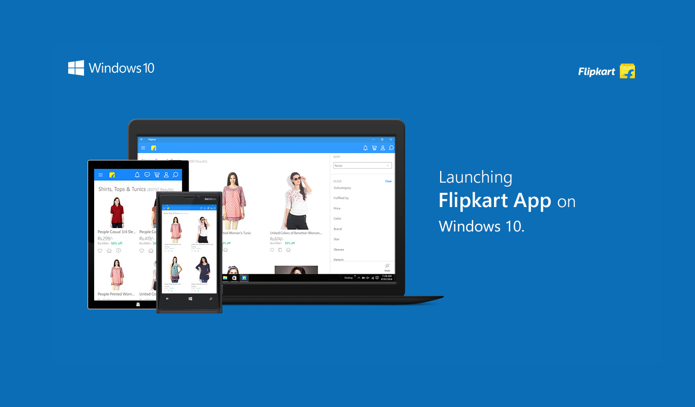 What's cool about the Flipkart Universal app on Windows 10
