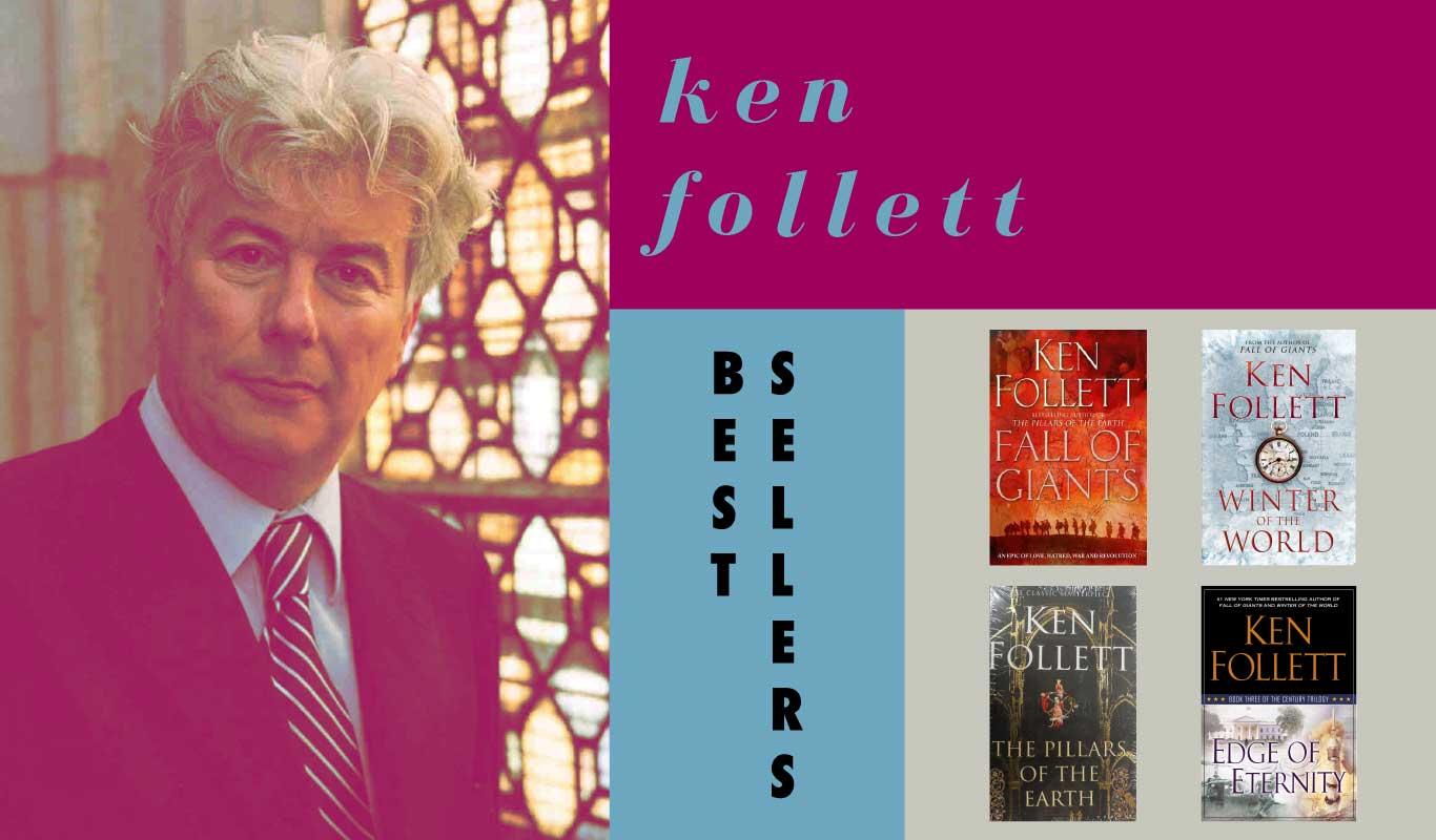 Ken Follett – The Flipkart interview