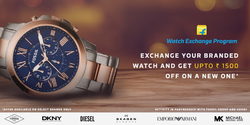 Flipkart Watch Exchange