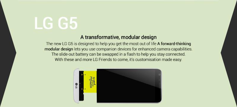 LG G5 – The modular masterpiece - Flipkart Stories