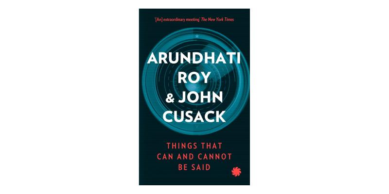 Pre-order books - Arundhati Roy and John Cusack