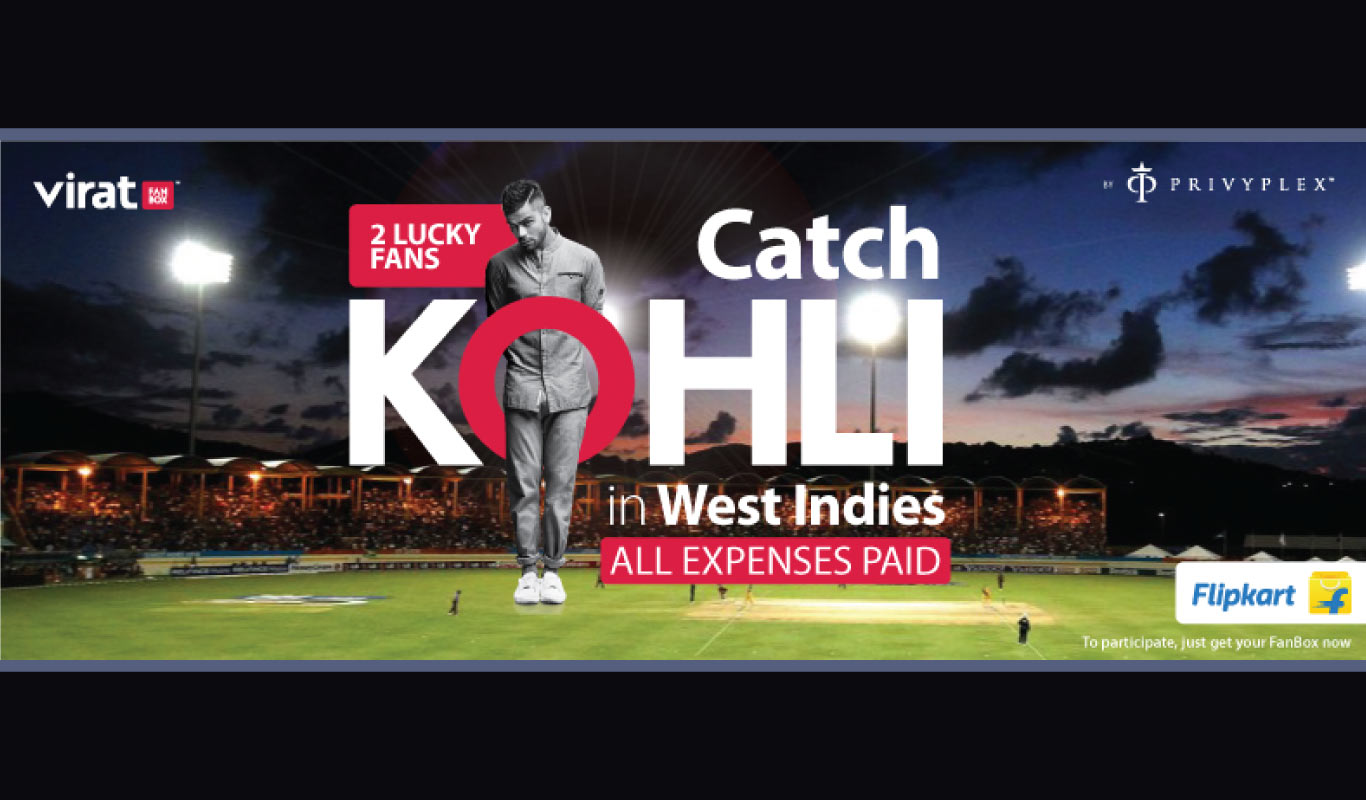 Virat FanBox – Your ticket to meet Kohli in the West Indies