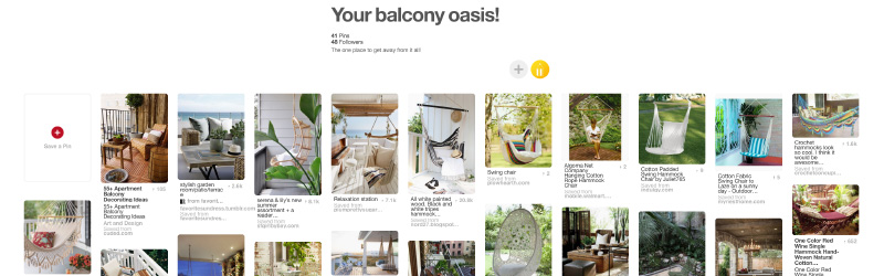 Check out some interesting Balcony ideas for your bachelor pad on our Pinterest board.