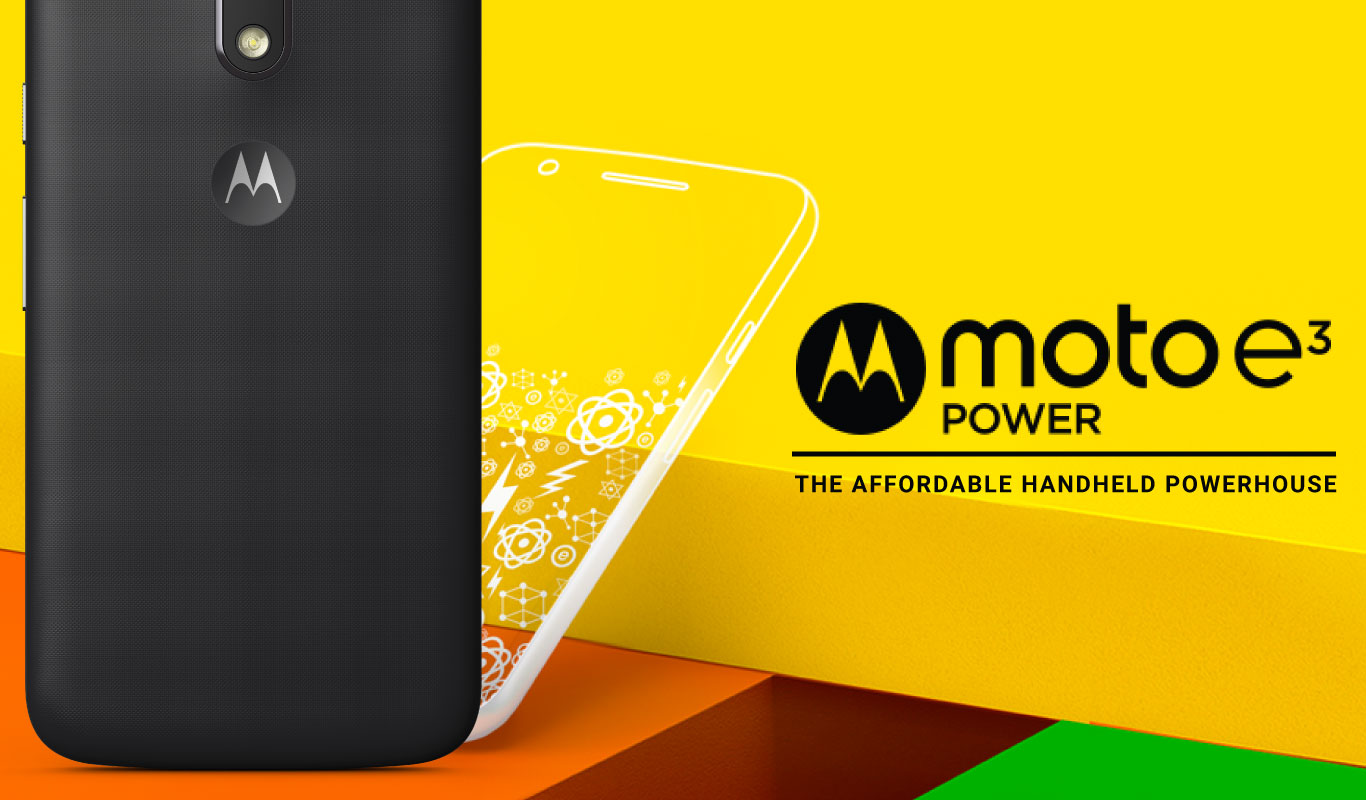 Moto E3 Power – The affordable handheld powerhouse
