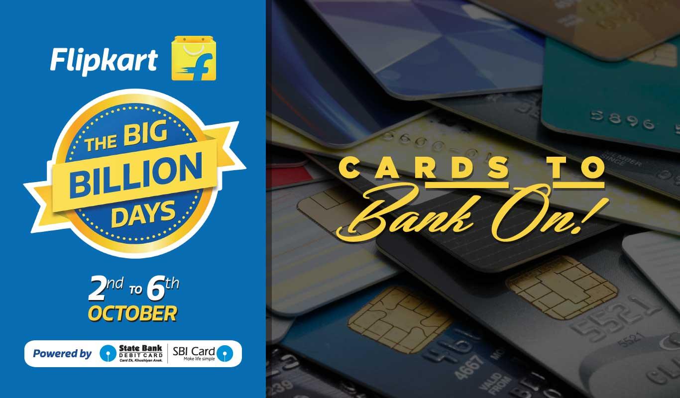 SBI offers to bank on for Flipkart Big Billion Days