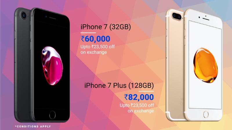 premium smartphone deals iPhone 7