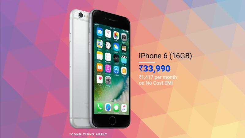 premium smartphone deals iPhone 6