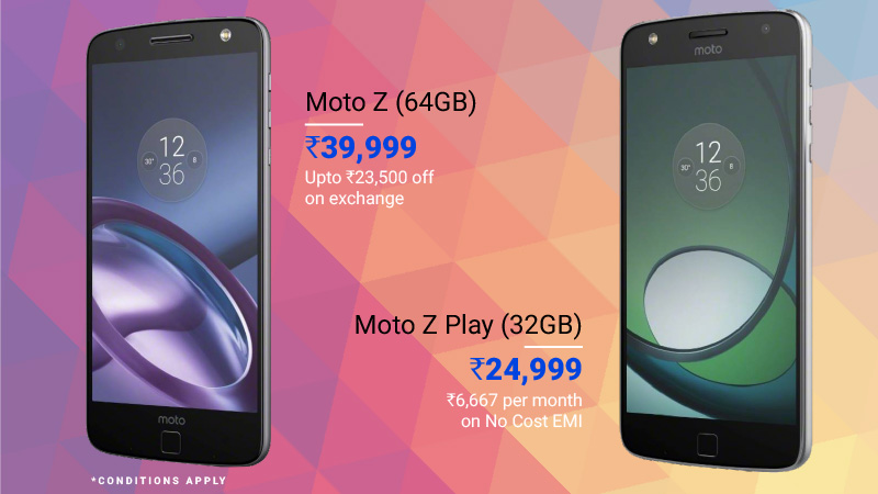 premium smartphone deals Moto Z