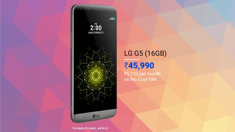 premium smartphone deals LG G5