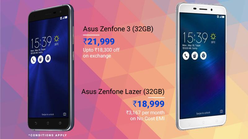 premium smartphone deals Asus Zenfone 3