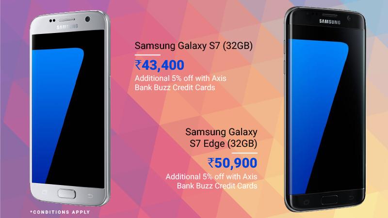 premium smartphone deals samsung galaxy S7