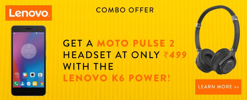 Lenovo K6 Power Flipkart Exclusive Offer