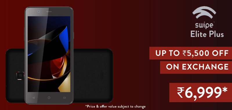 Flipkart phone exchange - Swipe Elite Plus