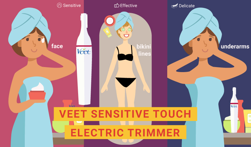 Holiday gifts - Veet Sensitive Touch Electric Trimmer