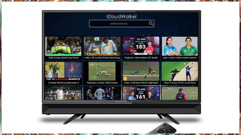 Flipkart Exclusive - CloudWalker TVs