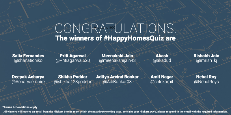 Flipkart Happy Homes Sale Contest