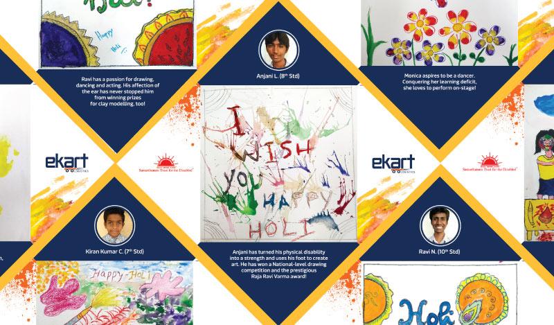 Ekart Holi Cards