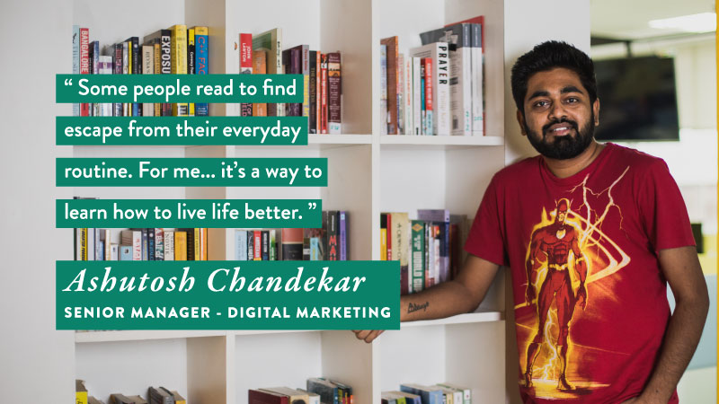 #WorldBookDay - Ashutosh Chandekar