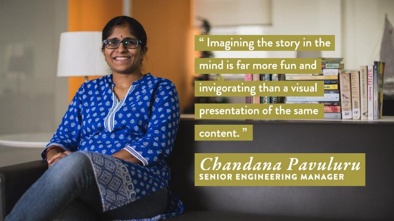 Chandana Pavaluru - #WorldBookDay