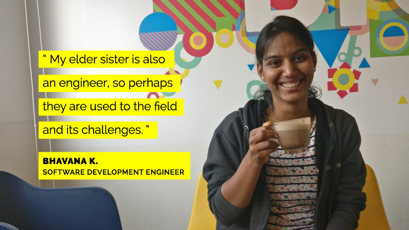 Women engineers at Flipkart - Bhavana K