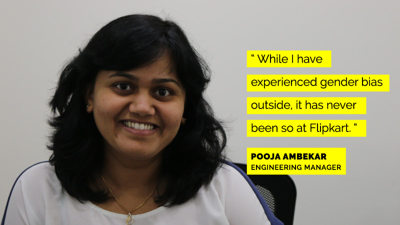 Women engineers at Flipkart - Pooja Ambekar