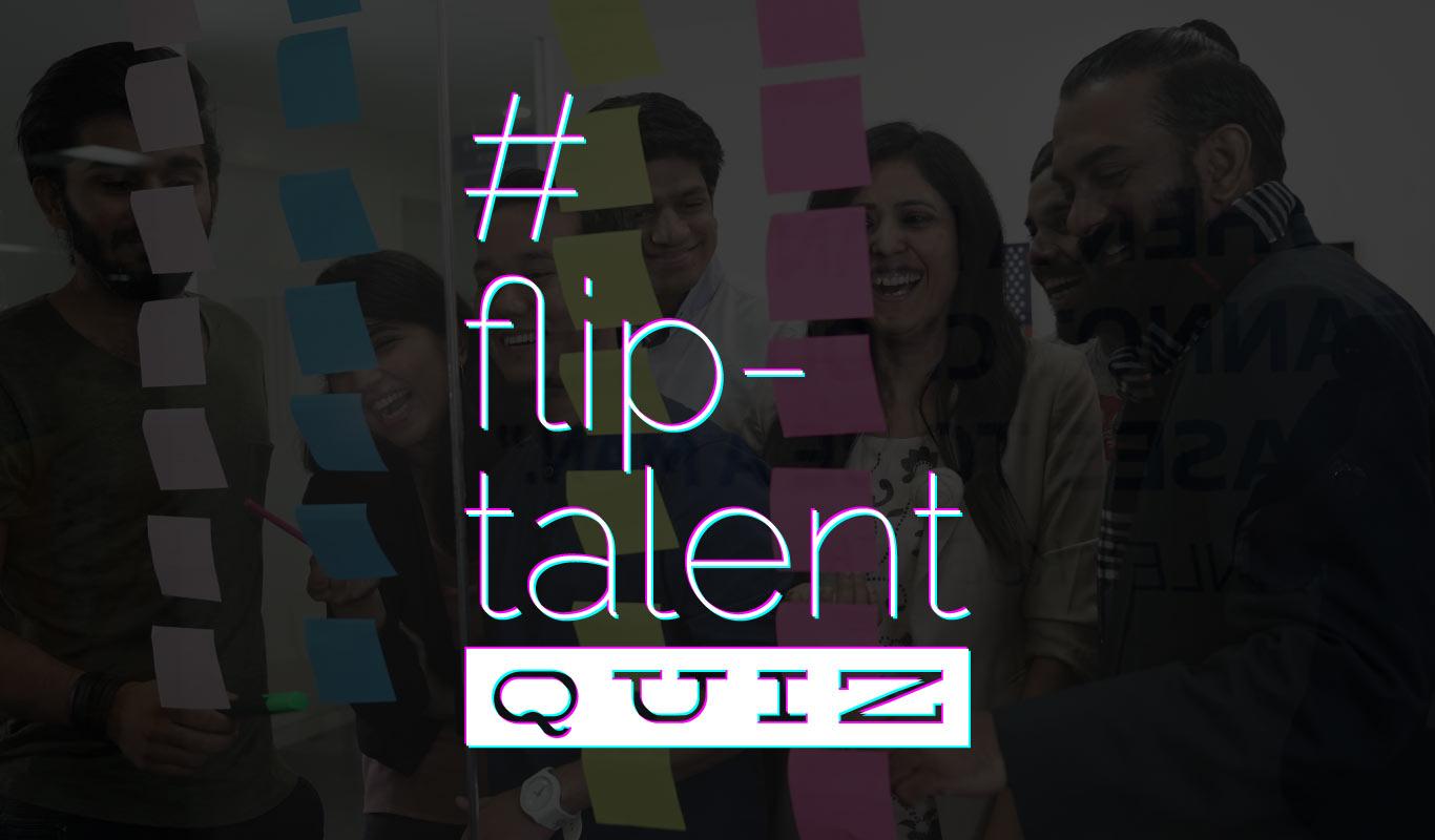 Play the #FlipTalentQuiz – The Flipkart Month of Talent contest