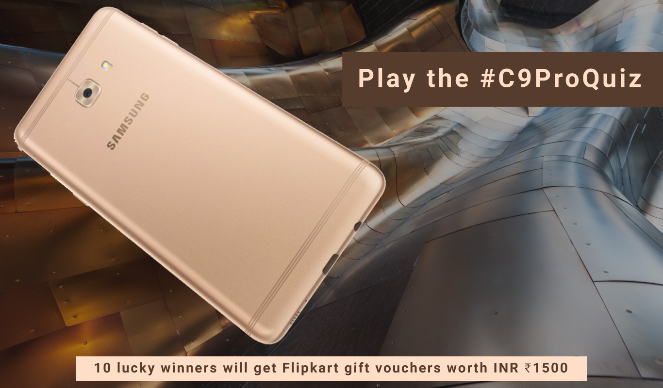The #C9ProQuiz – The Samsung Galaxy C9 Pro contest