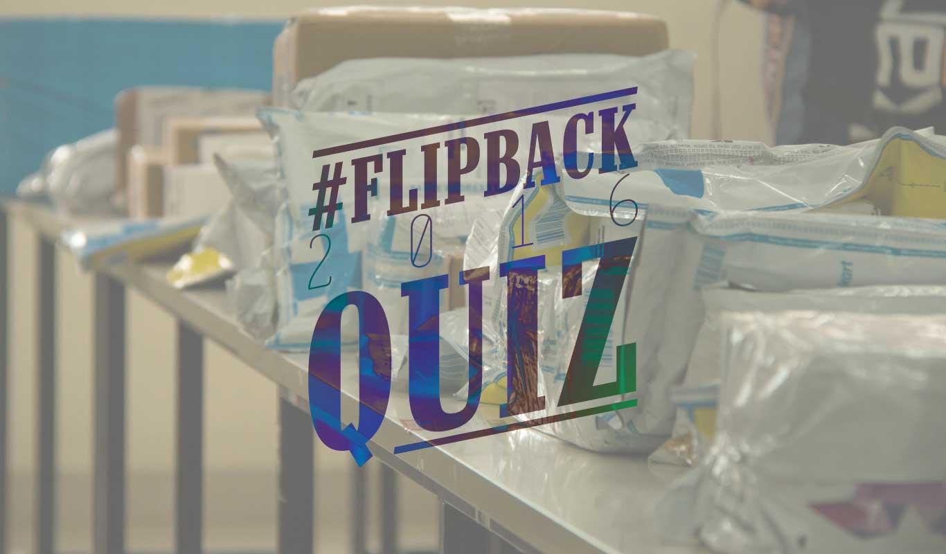 #FlipBack2016Quiz – How deeply have you read the top Flipkart Stories?