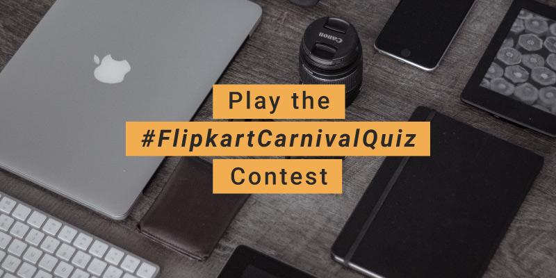 #FlipkartCarnivalQuiz – The Flipkart Accessories Carnival sale contest