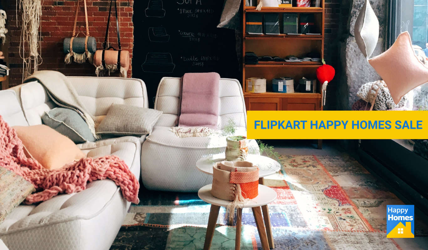 Flipkart Happy Homes Sale: Home essentials to get you ready for the summer!