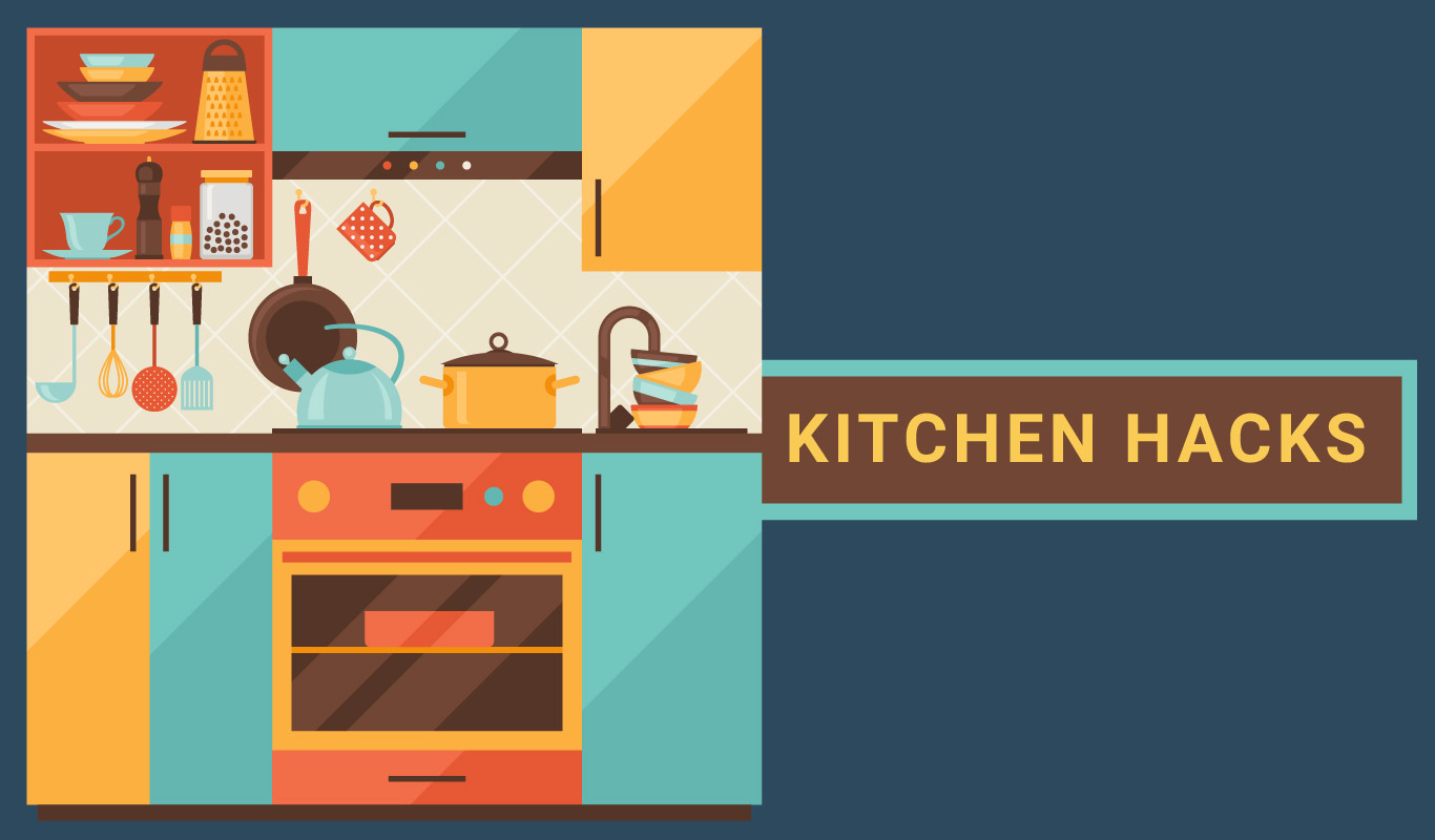 Kitchen hacks to help you beat the clock!
