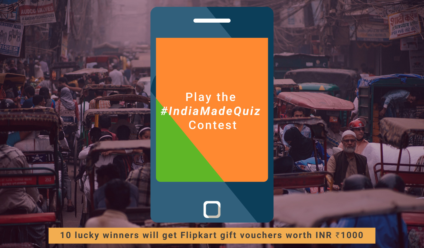 #IndiaMadeQuiz – The Made in India smartphones contest from Flipkart