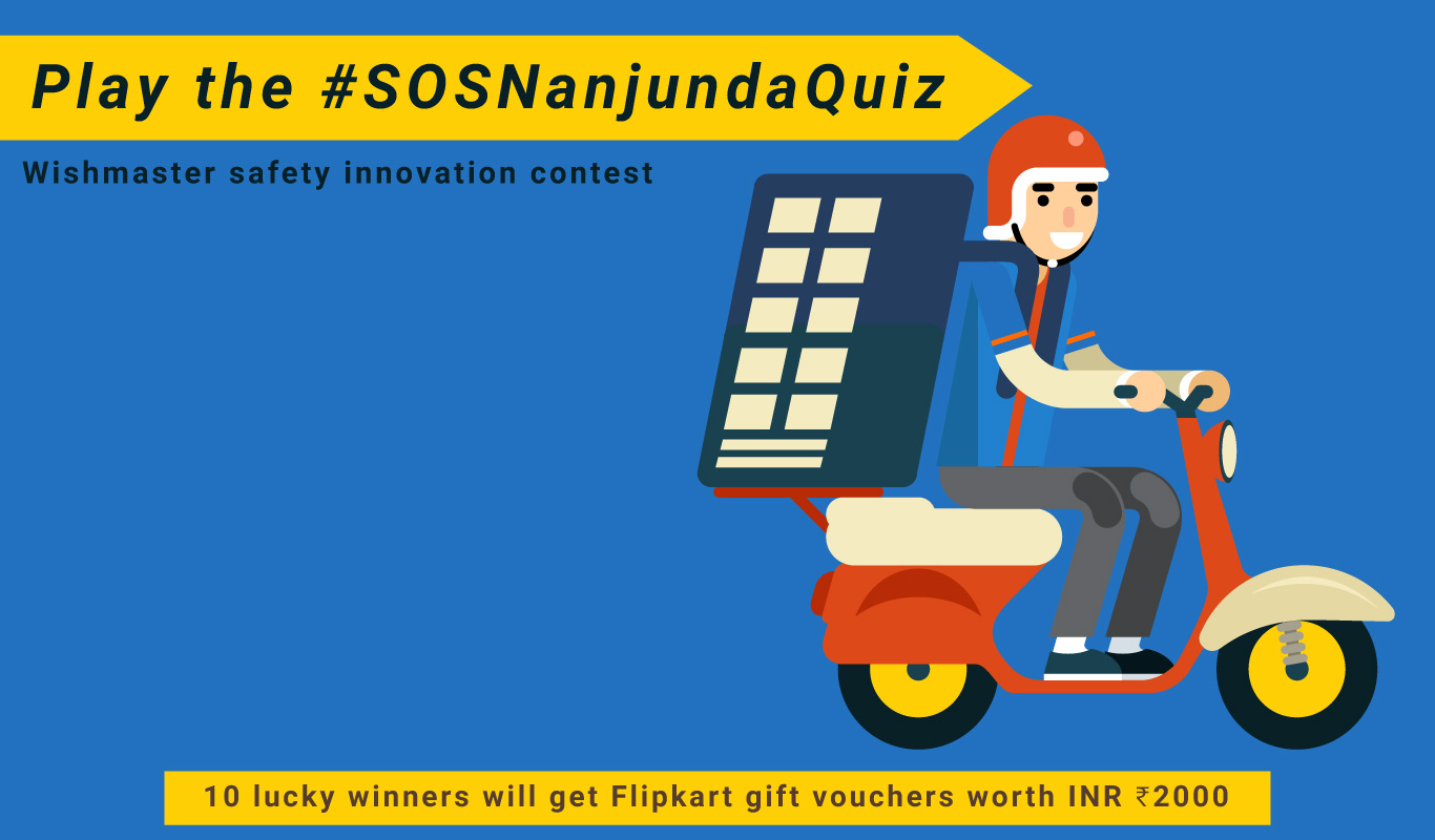 #SOSNanjundaQuiz – Wishmaster safety innovation contest