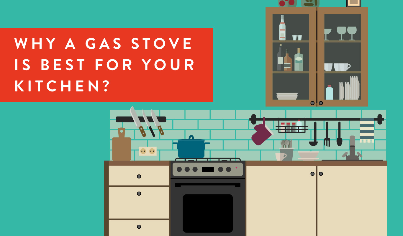 6 smart reasons to get a gas stove for your kitchen