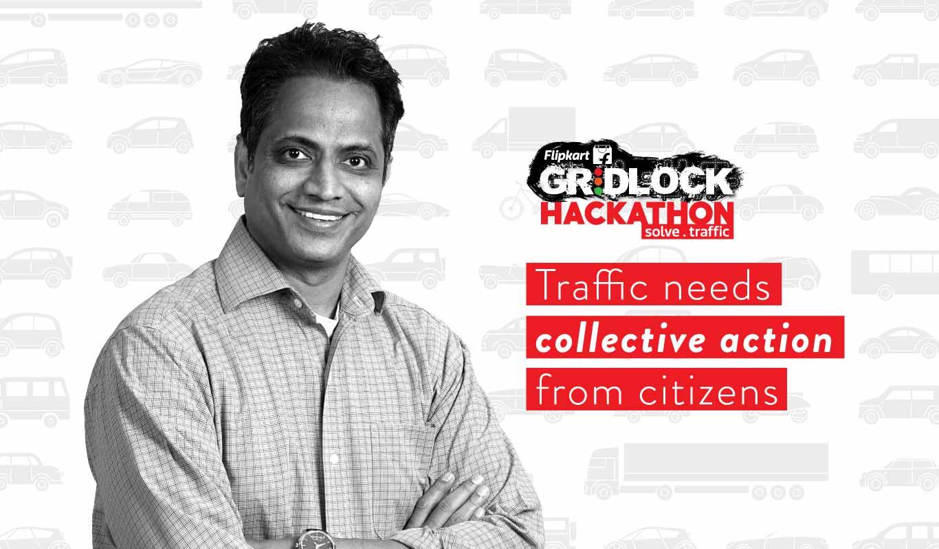Traffic needs collective action from citizens: Ravi Garikipati, Flipkart CTO