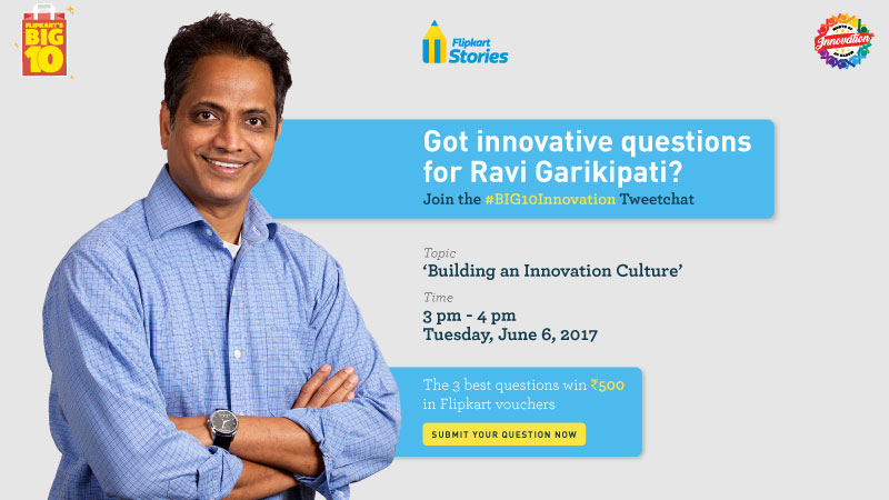 Ravi Garikipati - Innovation Tweetchat
