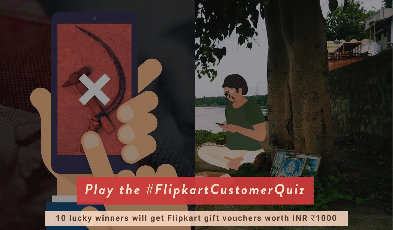 Play the Flipkart customer contest – The #FlipkartCustomerQuiz