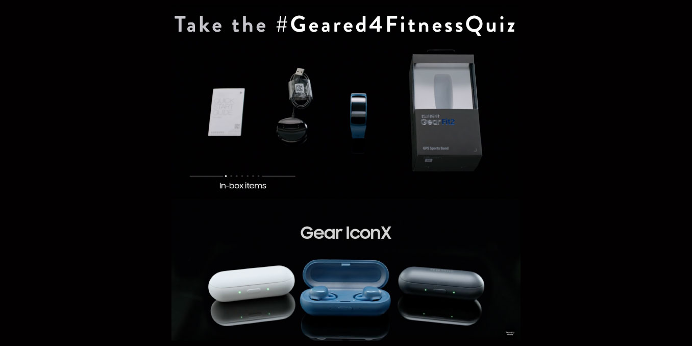 Weekly Quiz – Play the #Geared4FitnessQuiz