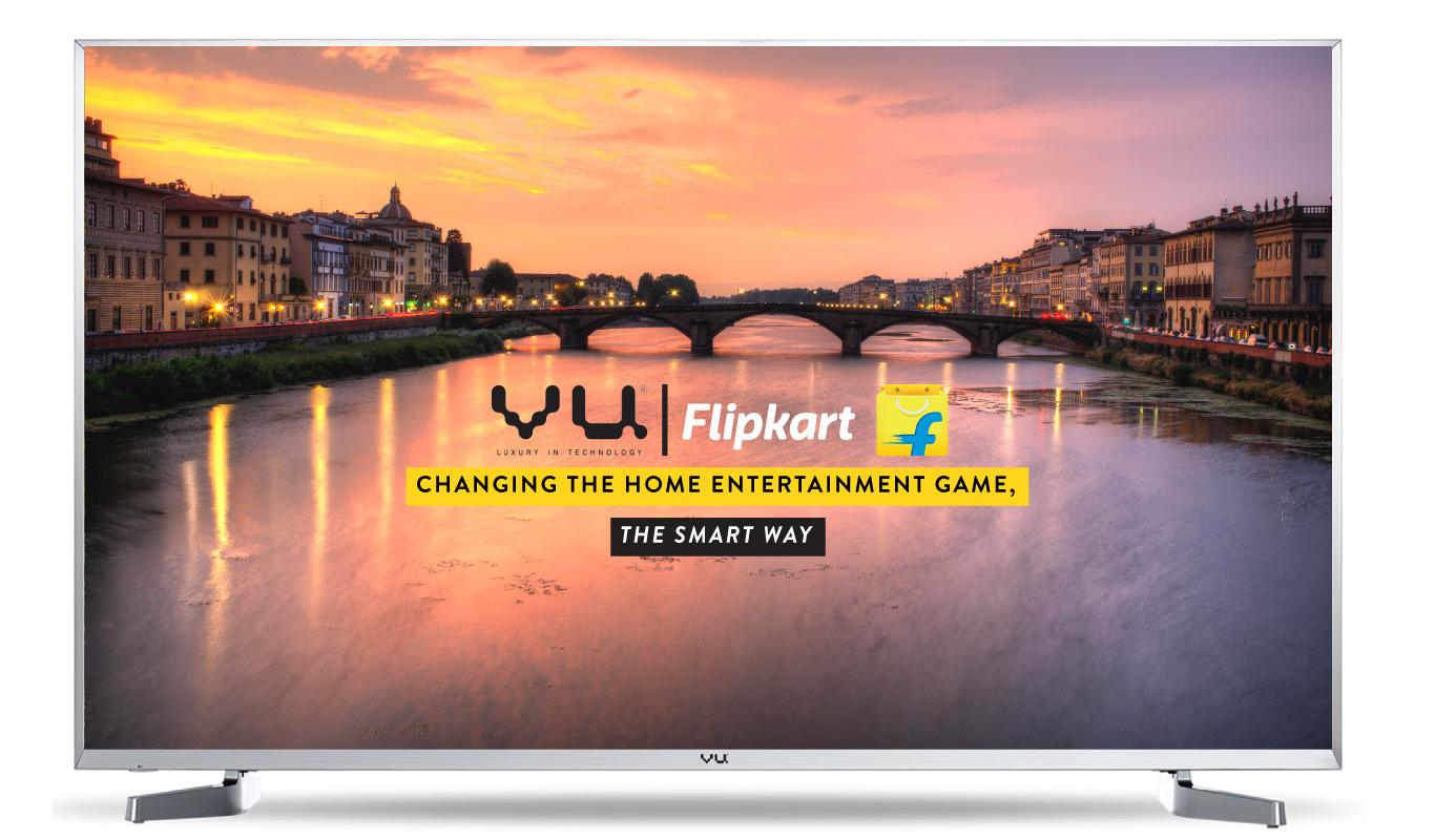 The story behind a unique partnership - Flipkart and VU TV