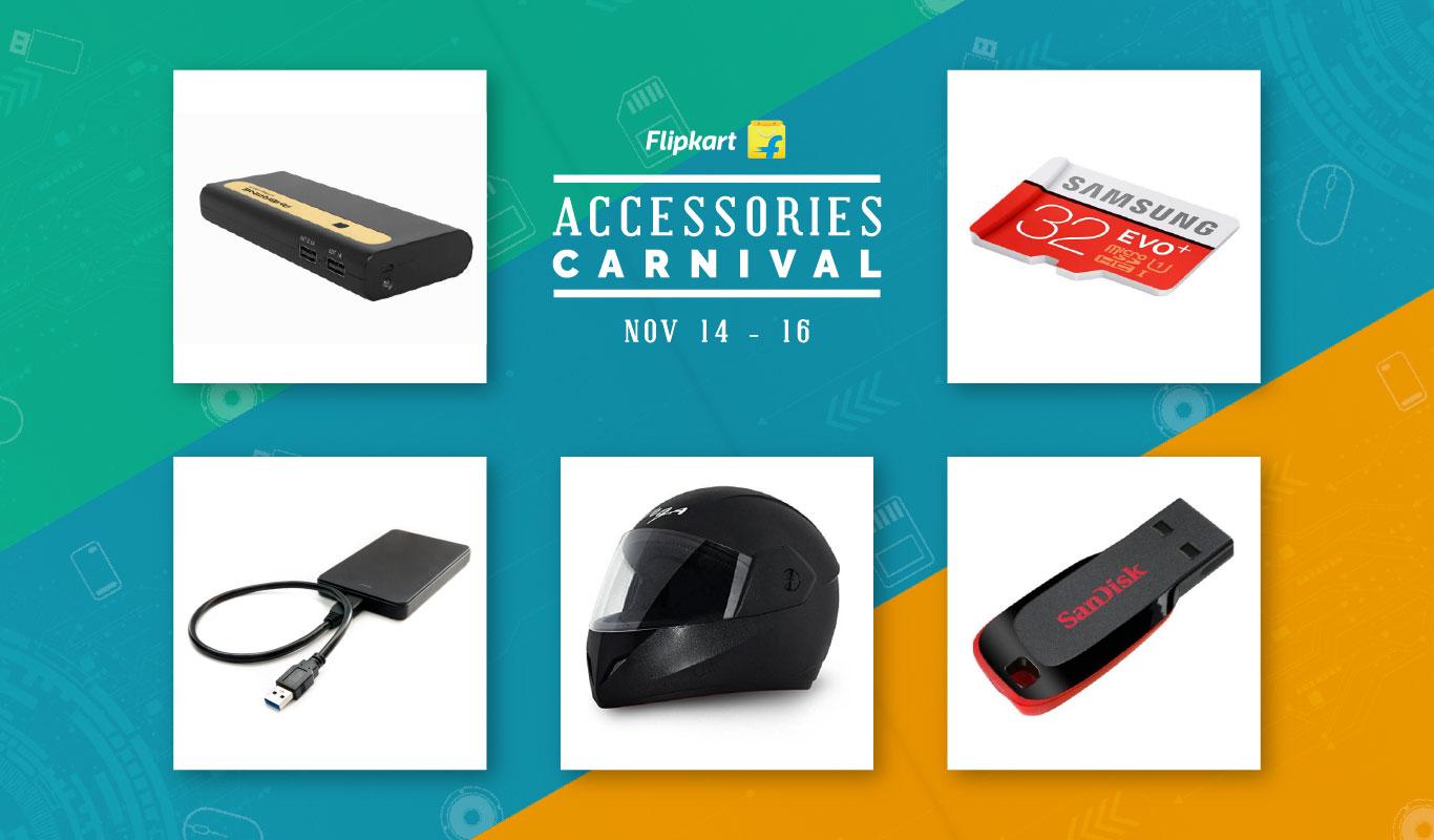 Flipkart Accessories Carnival is back – Fascinating deals on top brands