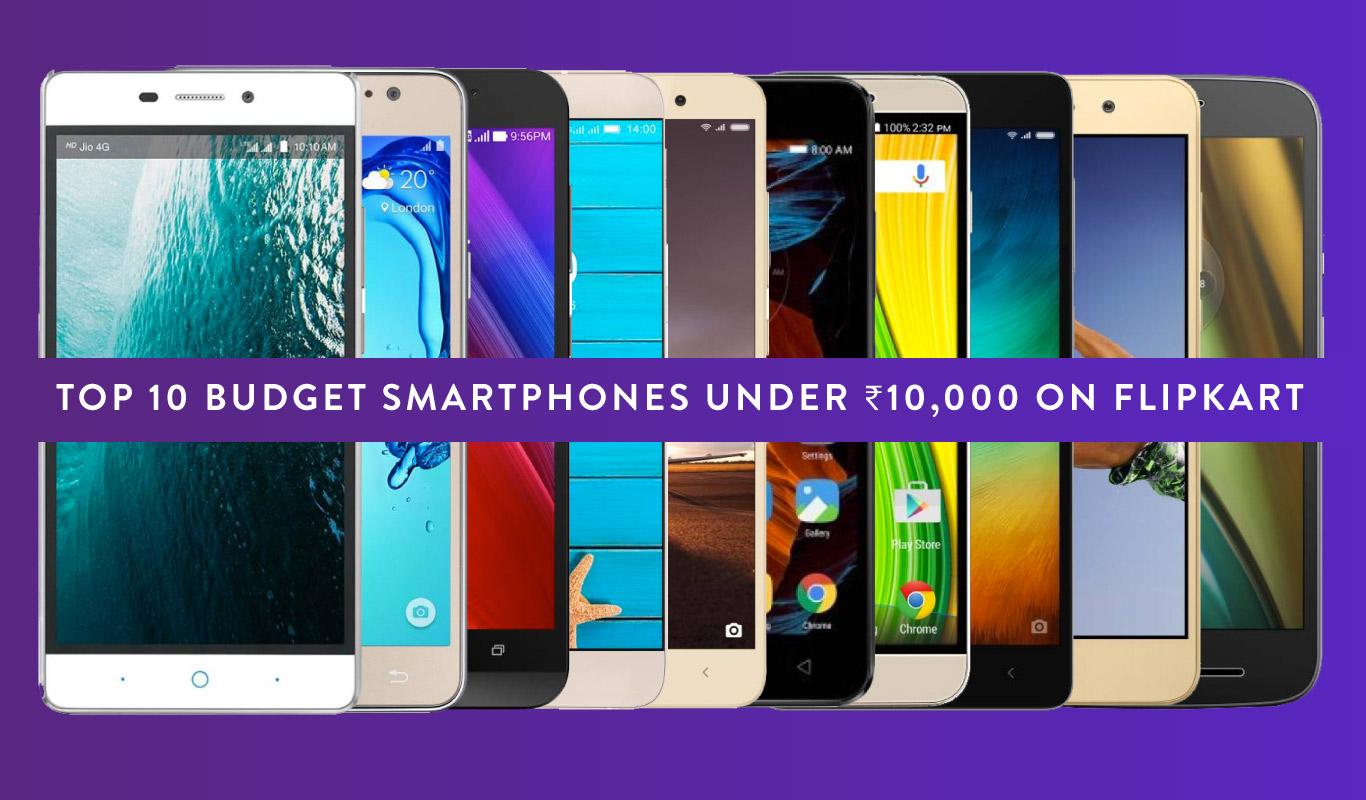 10 top budget smartphones of 2016 – Buy them under ₹10K on Flipkart