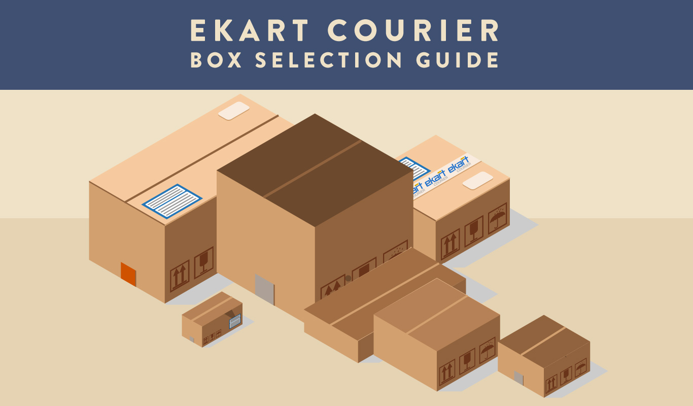 Ekart Courier Box – Package selection guide for your wishes