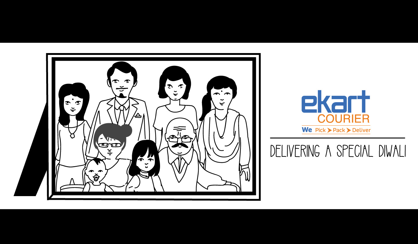 This Diwali, Ekart Courier makes your sweet dreams come true