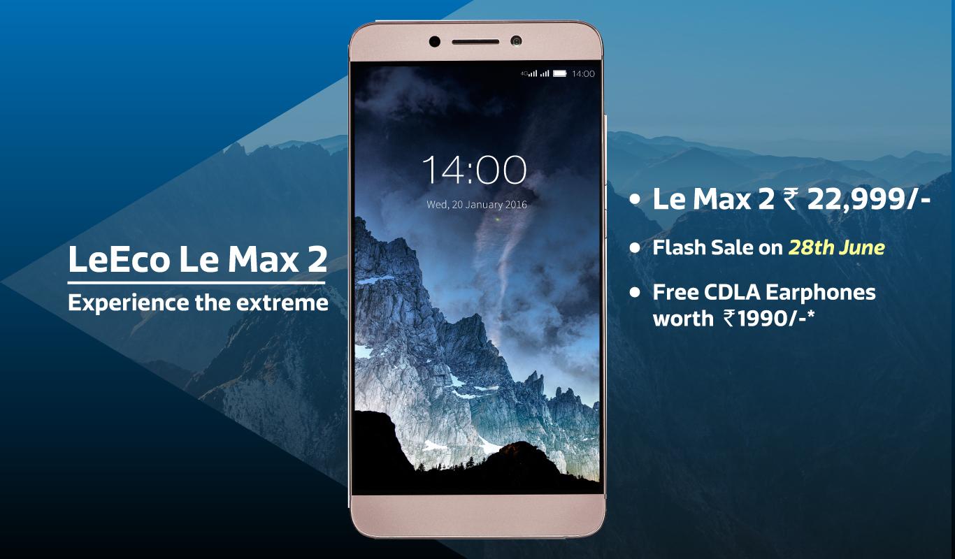 Flipkart Exclusive Flash Sale – Unveiling the LeEco LeMax2