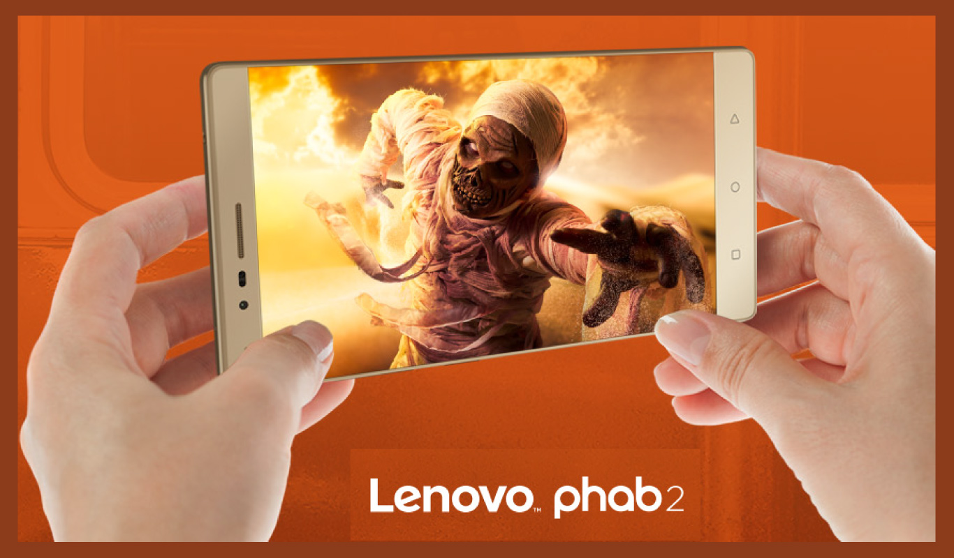 6 reasons to #GoPHAB with the Lenovo Phab 2 – A Flipkart Exclusive