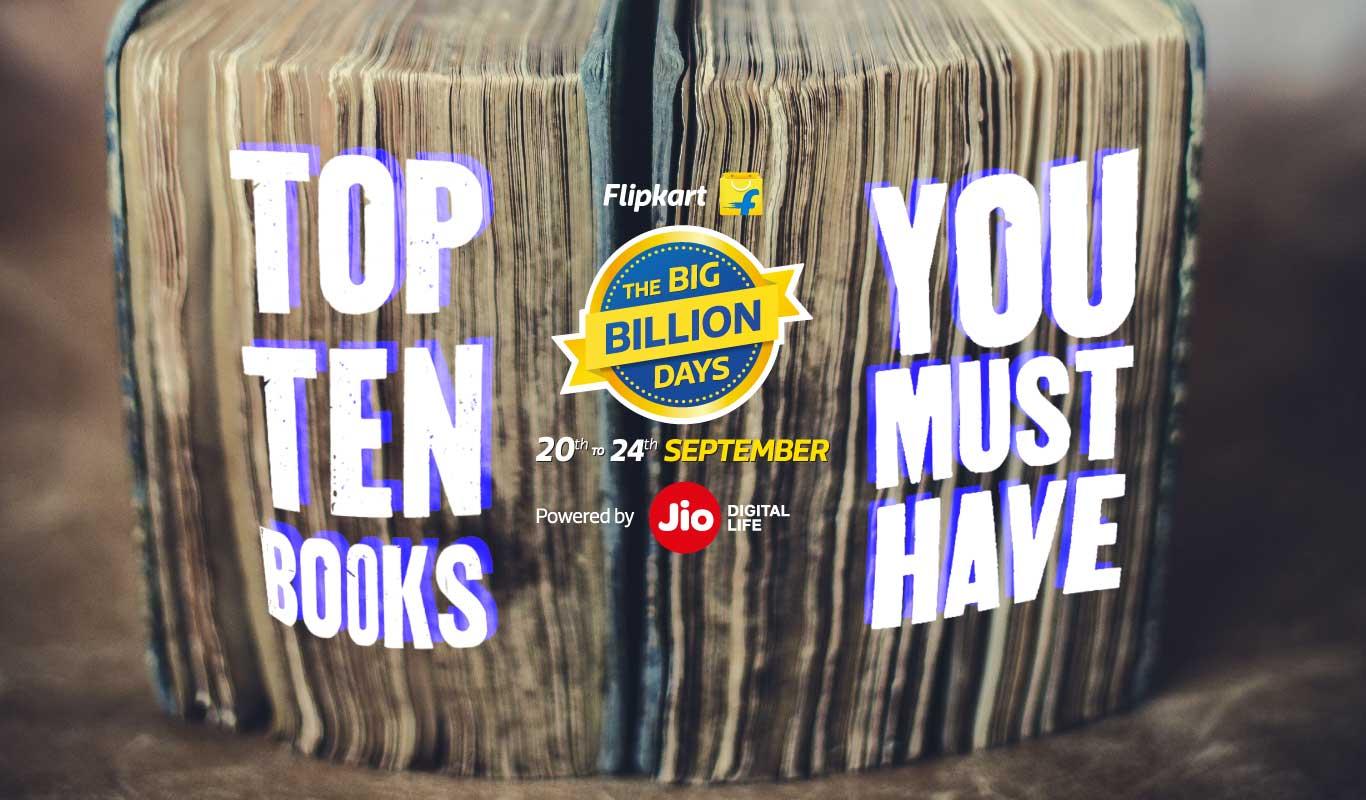 10 must-buy books for The Big Billion Days bargain hunter