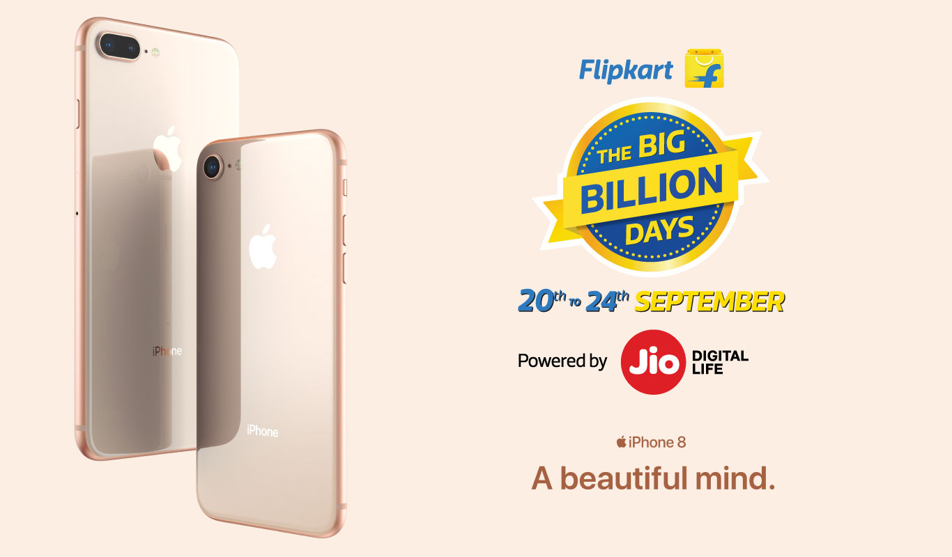 Apple partners with Flipkart for iPhone 8, iPhone 8 Plus, iPhone X