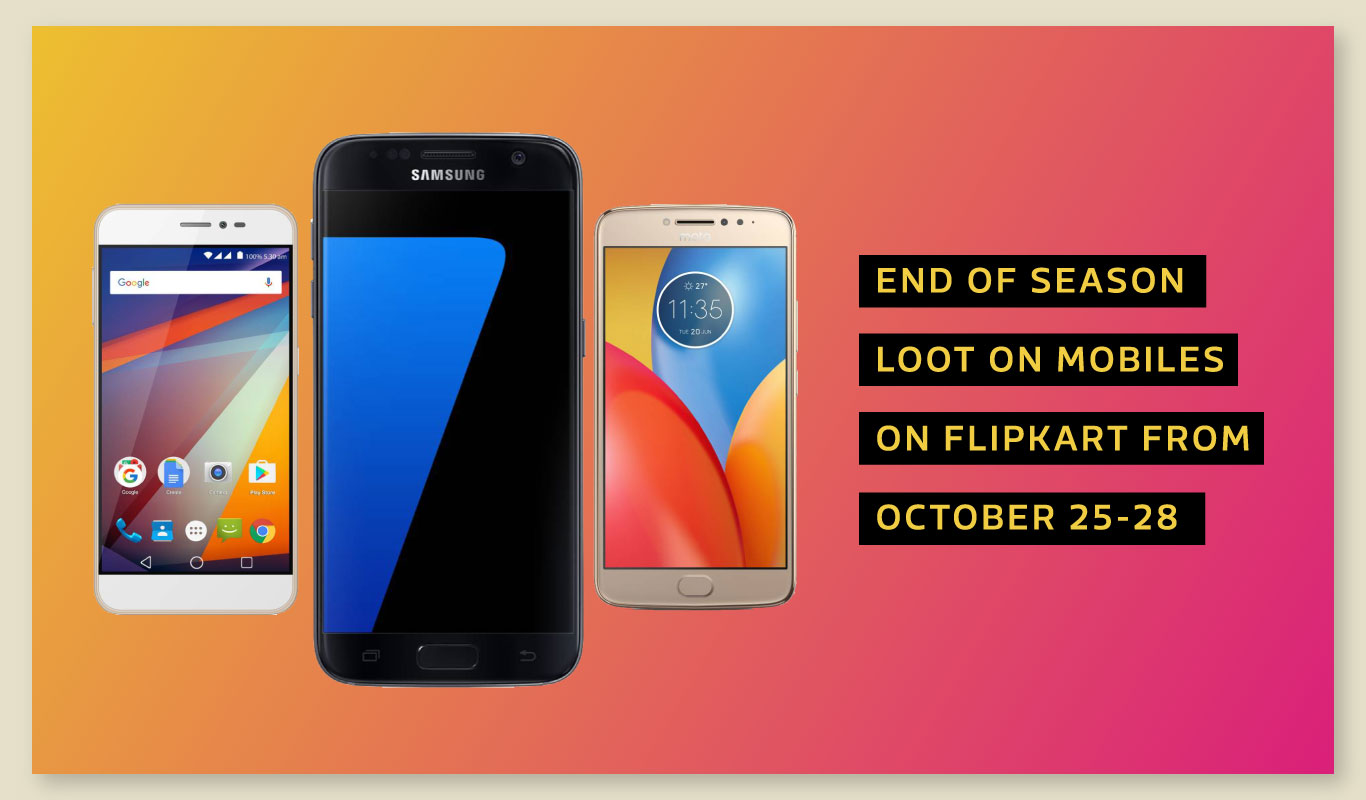 End-of-season smartphone offers, only on Flipkart!